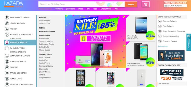 Lazada online shop philippines