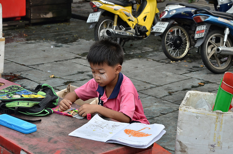 After school activities in Thailand. Photo credit: runran.